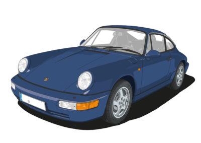 Porsche 964 Carrera Coupe