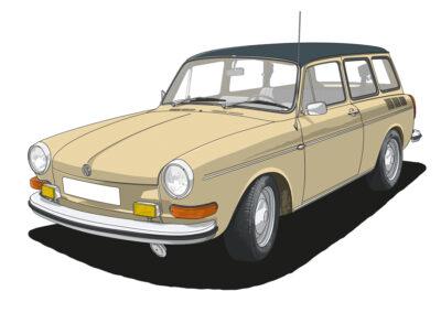 VW Variant 1600 L
