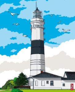 Leuchtturm Kampen · Nordsee