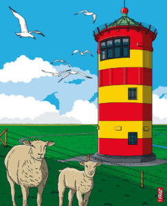 Leuchtturm Pilsum · Nordsee