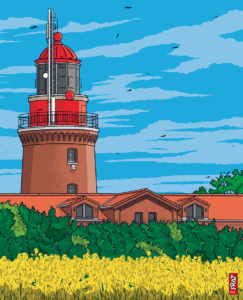 Leuchtturm Buk · Ostsee