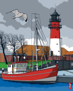 Leuchtturm Büsum · Nordsee
