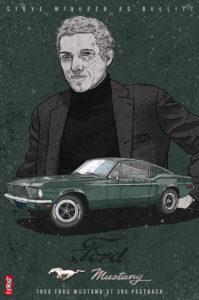 Steve McQueen as Bullit
