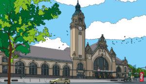 Krefeld-Mitte · Hauptbahnhof Krefeld