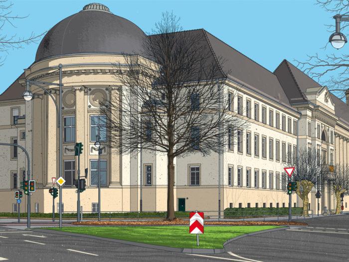 Architektur Krefeld 2018