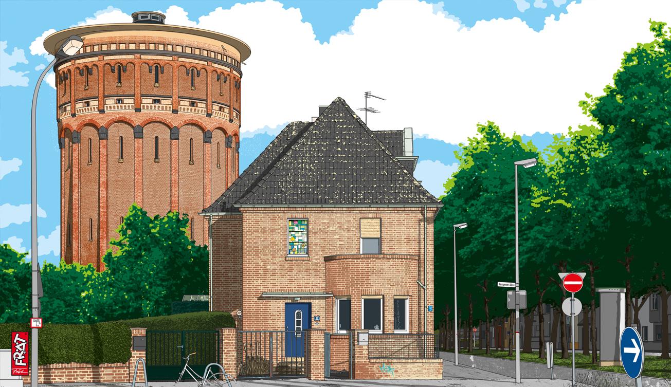 Wasserturm Krefeld