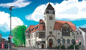 Krefeld-Fischeln · Fischelner Rathaus