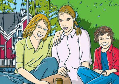 Familienportrait, 2013