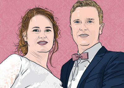 Hochzeitspaar, 2018