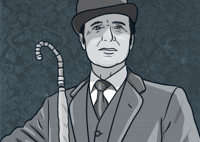 Patrick Macnee als John Steed