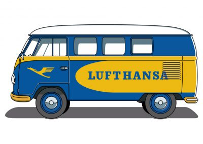 VW Bulli T1 Lufthansa