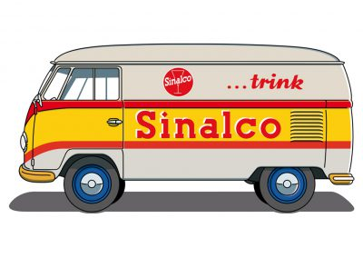 VW Bulli T1 Sinalco