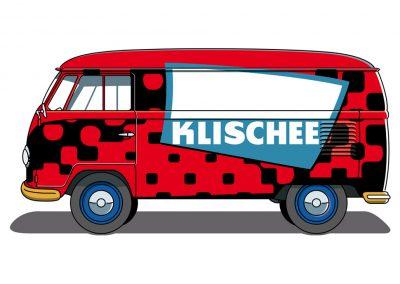 VW Bulli T1 Klischee