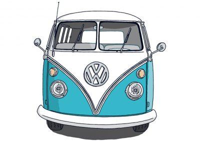 VW Bulli T1 Front