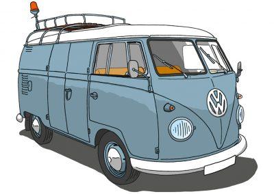 VW Bulli T1 Werkstattwagen