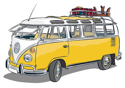 VW Bulli T1 mit Safarifenster