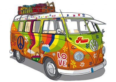 VW Bulli T1 Hippie