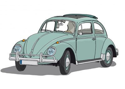 VW Käfer 1955