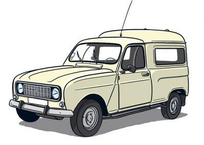 Renault R4 Kasten