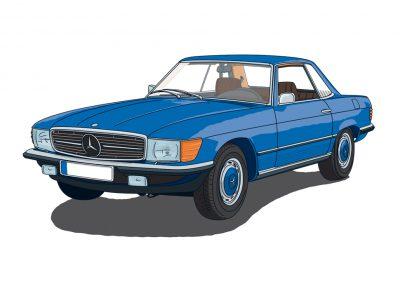 Mercedes R/C 107 SL Coupe