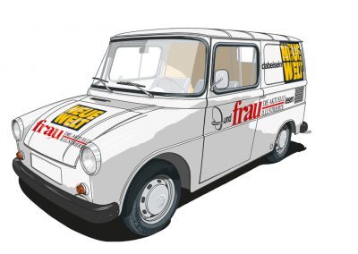 VW Typ 147 Fridolin Auftragsarbeit