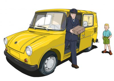 VW Typ 147 Fridolin Studie