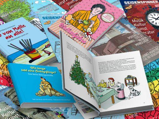 Illustrationen für Cover und Bücher