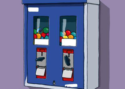 07 Kaugummiautomat