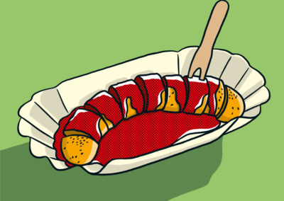 34 Currywurst
