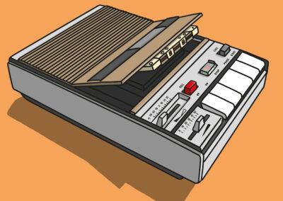 43 Kassettenrekorder